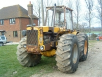 Although she is a bit aged now, this Muir Hill 121 was modified to house a DAF 8.25L 180HP Engine plant as we needed a machine with a little more grunt than the standard would produce. Along with this are the oversized tyres that pretty much transfer all the power to its ability to pull almost anything. We use this during sowing to pull the modified seed drill. Whilst most people have nicknames, this old girl is lovingly referred to as 'Daphne' on our Farm!